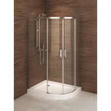 Madrid 48inch X 36inch Asymmetric Rightopening Corner Shower