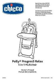 Chicco High Chair Polly by Chicco Polly Progress 5 In 1 Relax Multi Chair In Silhouettte