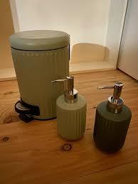 badezimmer eimer und seifenspender sostrene grene neu