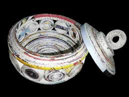 How To Make A Jewellery Box Using Newspaper DIY Craft