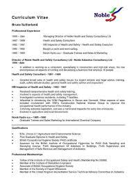Resume Template Write Simple Nz Free