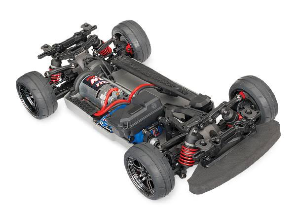 Traxxas 4Tec 2.0 XL-5 RTR 83024-4 RC Car Toy - 1:10 Scale