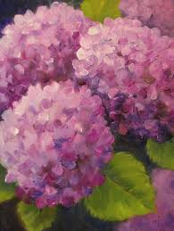 Maree Lawrence Pumpkin Patch by Nel U0027s Everyday Painting Magenta Hydrangeas Sold Paint Night