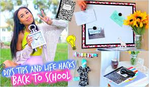 DIY Room Decorations MAJOR Life Hacks For Back To School