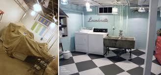 Unfinished Basement Laundry Room Ideas New Impressive Before