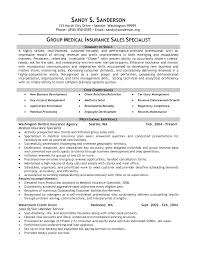 Insurance Resume Objective Examples Of Resumes Best Format