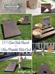 DIY Corn Hole Board