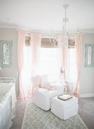 Yellow And White Curtains For Nursery by Best 25 Baby Pink Curtains Ideas On Pinterest Pink Childrens