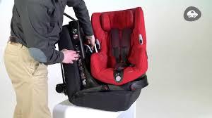 siege auto isofix rotatif installation du siège auto groupe 1 axiss de bebe confort