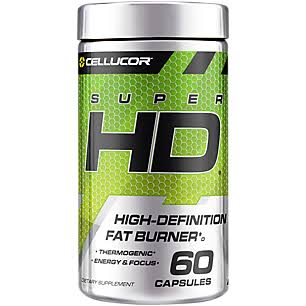 Cellucor SuperHD Thermogenic Fat Burner & Energy - 60ct
