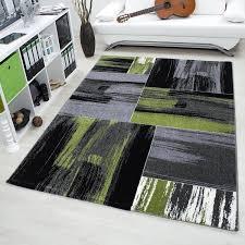 tapis pour la cuisine tapis vintage vert pour salon
