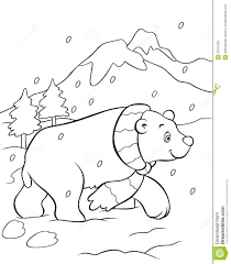 Royalty Free Stock Photo Download Polar Bear Coloring Book