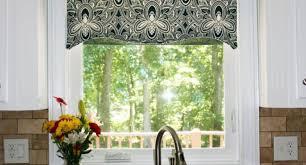 Kitchen Curtain Valance Styles by Kitchen Black Kitchen Curtains And Valances Window Treatments