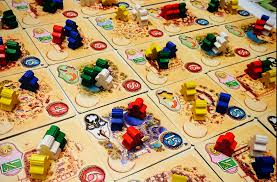 A Somewhat Abstract Trading Game Five Tribes First Edition Featured Slavery