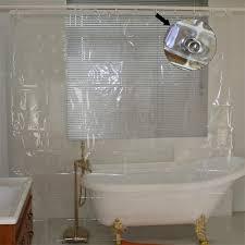 transparent mehltau proofing dusche vorhang wasserdicht bad