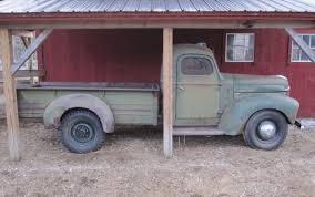 100 1946 International Truck Postwar Pickup Harvester KB3 Barn Finds