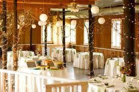 Diy Cheap Wedding Reception Decorations With Tree Branches And Chinese Lanterns Also Small Blackboards On