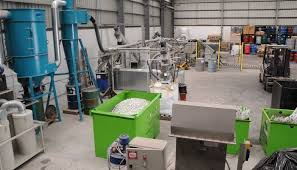 how fluorescent are recovered by a l recycler