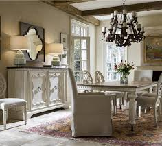Bluestone Dining Room by Sojourn French Country White Buffet Credenza With Bluestone Top