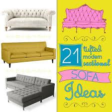 Martha Stewart Saybridge Sofa Colors by 21 Tufted Modern Sectional Sofa Ideas The Scrap Shoppe
