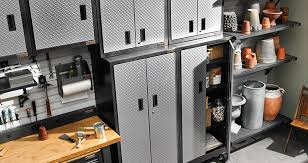 Home Depot Plastic Garage Storage Cabinets by Garage Storage Shelving Units Racks Storage Cabinets U0026 More At