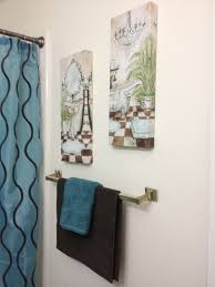 Teal Bathroom Decor Ideas by Brown And Teal Bathroom Decor Home Design Ideas And Inspiration