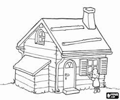 Houses Coloring Pages Printable Games 2