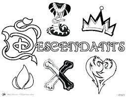 Descendants 2 Coloring Book A Wickedly Cool Also Pages Google Fr
