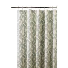 Curtain Grommet Kit Home Depot by Lavish Home 72 In Embroidered Shower Curtain With Grommets In