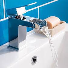 wasserfall wasserhahn armatur waschbecken badewanne