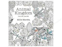 Lark Animal Kingdom Color Me Draw Book