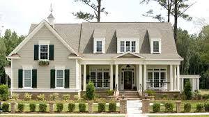 Farmhouse Houseplans Colors Exterior Color Southern Living Home Pictures Landing
