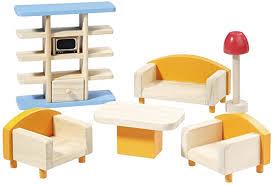howa puppenmöbel wohnzimmer aus holz 7301 de