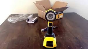 unboxing and impressions dewalt 20v max led flashlight