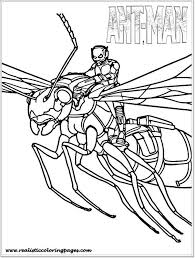 Antman Coloring Pages 574980