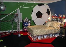 Photo Gallery Soccer Bedroom Decor