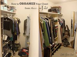 How to Make DIY Closet Organizers and Clean Out Your Walk in Closet