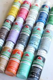 A Rainbow Of Colorful Craft Paint Perfect For Crafting With The Family Apple DIY Projects KidsEasy
