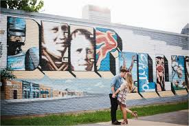 Deep Ellum Mural Locations by David Mikayla A Colorful Romantic Ethereal Engagement