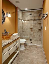 blue and brown bathroom color brilliant brown tile bathroom paint