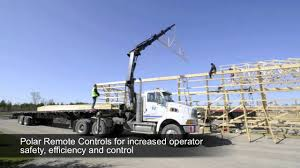 HIAB XS 244 Truck Mounted Crane - YouTube