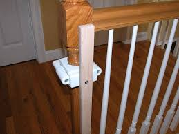 Baby Gates Banister Installing A Baby Gate Without Drilling Into A ... How To Replace Banister Newel Post Handrail And Spindles On A Banister Attachment To Install A Wooden Handrail On Split 42 White Wood Stair Railing Modern Home Designs Steep Stairs Rails Iron Balusters August 2010 Deckscom Deck Railings Installing Baby Gate Without Drilling Into Insourcelife Cooper Stairworks Tips Techniques Using Post Hdware For Iron X Installation Animation Youtube Chaing Your Wrought Fancy