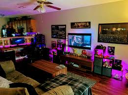 when the gaming station take the entire living room