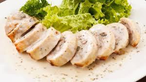 boursin cuisine recettes poitrines de poulet farcies au boursin et aux chignons foodlavie