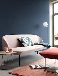 trendfarbe blueberry schöner wohnen farbe moderne wohnzimmer