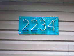 New House Numbers JulepStyle