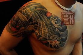 Asian Koi Fish Shoulder Tattoo In 2017 Real Photo Pictures Images And Sketches Collections