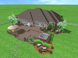 designing deck with free software above ground pool decks deck