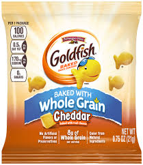 CHEDDAR GOLDFISHR MADE WITH WHOLE GRAIN