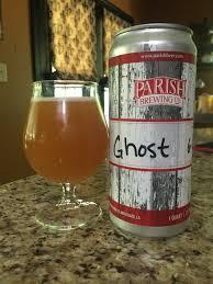 Alewerks Pumpkin Ale Clone by Parish Brewing Co Ghost In The Machine Got A Crowler Filled At